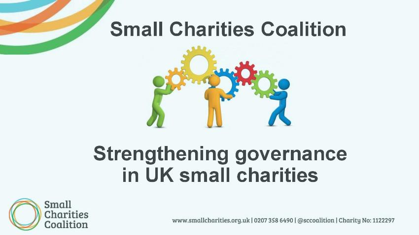 Ms Lizzie Adams, Services & Programmes Manager, Small Charities Coalition (UK)