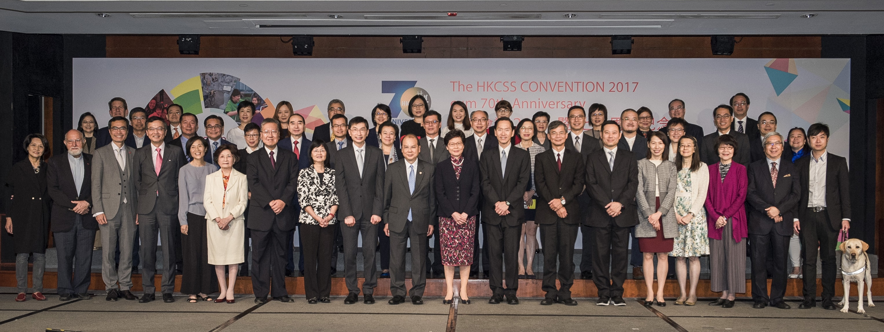 group photo of plenary session