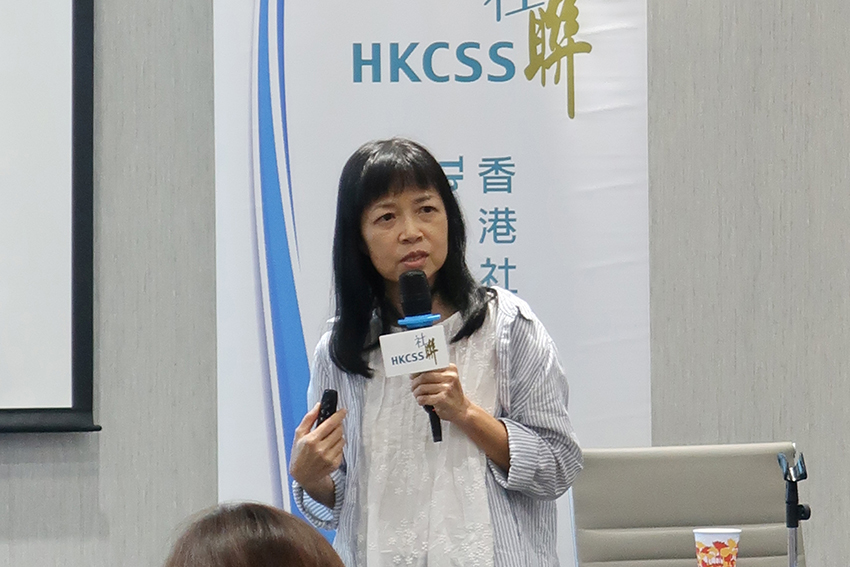 As the Chairperson of Hong Kong Federation of Women's Centres, Dr Liliane Chan shed light on her insights gained from the agency's salary and staffing review a few years ago.
