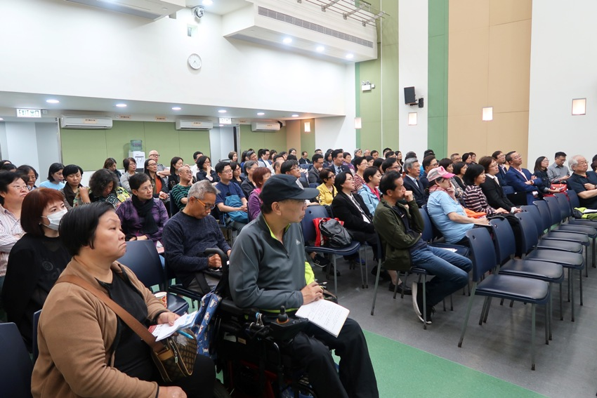 Nearly one hundred representatives from different NGOs attended the seminar.