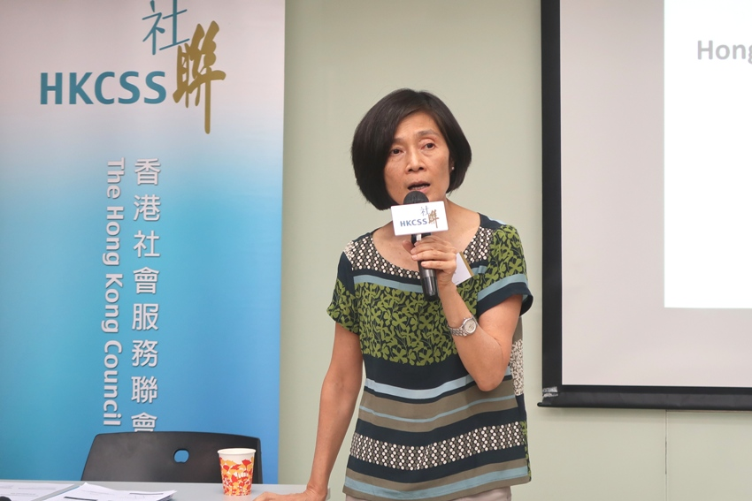 As one of the partnering organization representatives of the Hong Kong NGO Governance Health Survey, Ms Christine Fang, Founding Director and Consultant of Governance and Management Excellence (GAME) for Public Benefit, mentioned that the survey took reference to similar studies overseas and localized the good governance practices to provide a tool for participating agencies to reflect on their own governance model.