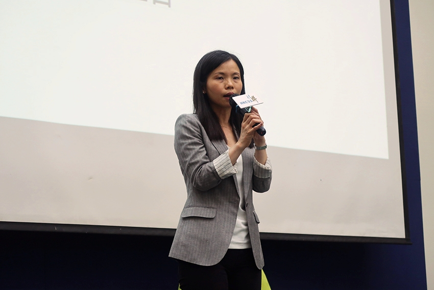 Ms Serina Chan said that the Law Society of Hong Kong collaborated with the Hong Kong Council of Social Service and held different kind of activities to promote the development of pro bono services.
