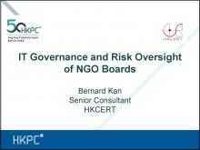 IT Governance and Risk Oversight of NGO Boards