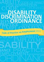 Code of Practice on Employment under the Disability Discrimination Ordinance