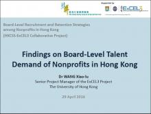 Board-Level Talent Demand of Nonprofits in Hong Kong