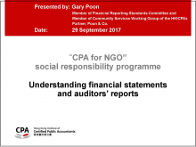 Understanding financial statements and auditors' reports