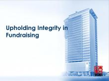 Upholding Integrity in Fundraising