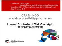 Internal Control and Risk Oversight