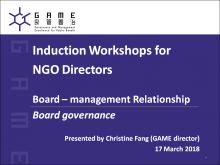 Board-management relationship