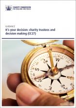It's your decision: charity trustees and decision making