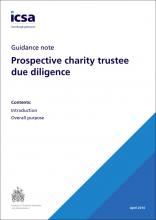 Prospective charity trustee due diligence