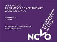 The Sun Tool: The Six Elements of a Financially Sustainable NGO