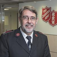 Lieut-Colonel Ian Swan, Officer Commanding of The Salvation Army Hong Kong and Macau Command