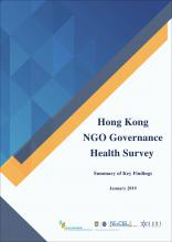 Summary of Key Findings for Hong Kong NGO Governance Health Survey