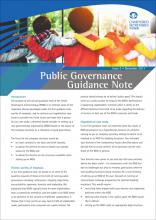Public Governance Guidance Note Issue 2 - Setting up charities