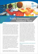 Public Governance Guidance Note Issue 3 - Setting up social enterprises