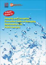Quick Starter to Integrity and Corruption Prevention Guide on Managing Relationship with Public Servants