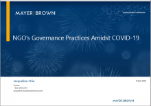 NGO's Governance Practices Amidst COVID-19